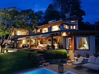 Casa del Lago Casas rústicas de LOGUER Design Rústico