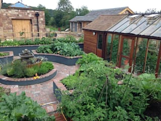Kitchen Garden, Wirral:   by Native Landscape Design