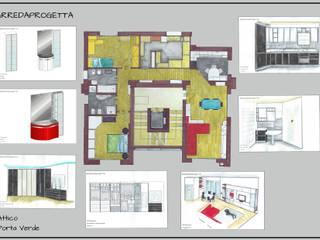 Modern houses by Arreda Progetta di Alice Bambini Modern