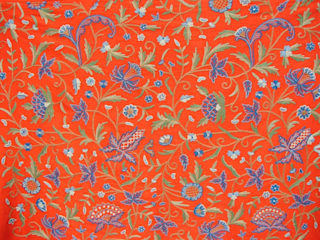 Crewel Fabrics Curtains & Drapes: asian  by Crewel Fabric From Zia Enterprises,Asian