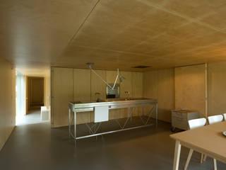 Casa no Gerês Modern living room by CORREIA/RAGAZZI ARQUITECTOS Modern