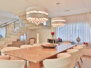 غرفة السفرة تنفيذ Rita Albuquerque Arquitetura e Interiores