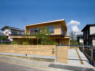 滋賀大津の住宅/House at Otsu, Shiga オリジナルな 家 の 松下建築設計 一級建築士事務所/Matsushita Architects オリジナル