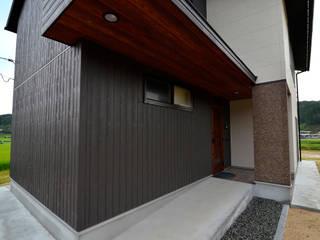 Casas modernas de 宮崎環境建築設計 Moderno