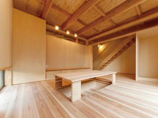. 和風デザインの ダイニング の 渡辺浩二 設計室 和風