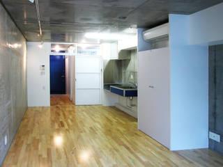 緑の環境と住宅: ユミラ建築設計室が手掛けた壁です。