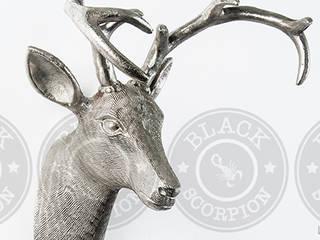 Animal Heads:   by Black Scorpion Home Decor