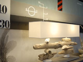 NAO: Salon de style de style eclectique par Coc'Art Créations