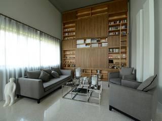 미니멀리스트 거실 by M A+D Menzo Architettura+Design 미니멀