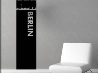 Wandtattoos skylines:   von Wandkleber