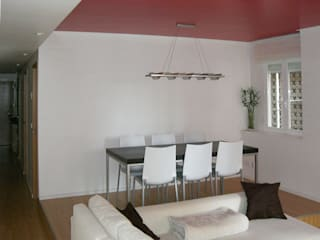 Salon minimaliste par AFarquitectura Minimaliste