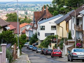 Am Hang und aus der Reihe, Neustadt an der Weinstraße Helwig Haus und Raum Planungs GmbH Moderne Häuser