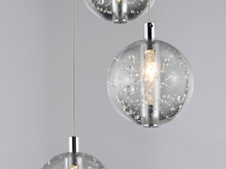 Bubbles Range Avivo Lighting Limited Couloir, entrée, escaliersEclairage