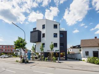 Wohn- und Geschäftshaus in Lorsch Helwig Haus und Raum Planungs GmbH Moderne Bürogebäude