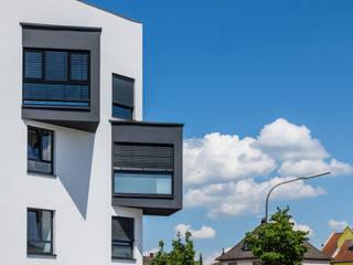 Wohn- und Geschäftshaus in Lorsch Moderne Bürogebäude von Helwig Haus und Raum Planungs GmbH Modern