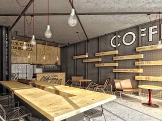 1A3B TASARIM – Beşiktaş Black Coffee: minimalist tarz , Minimalist