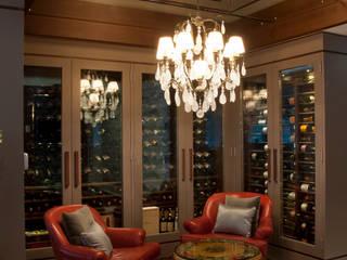 Link Interiores의  와인 보관, 클래식