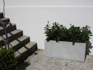 Pflanzkübel Fiberglas im Beton-Design: modern  von AE Trade Online,Modern