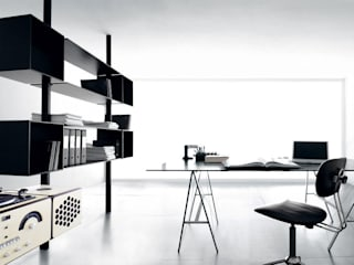 Modern Study Room and Home Office by Extendo Modern