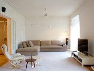 ห้องนั่งเล่น โดย Beriot, Bernardini arquitectos, โมเดิร์น