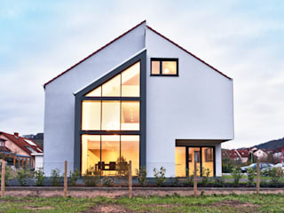 Single Family House in Heppenheim, Germany 모던스타일 주택 by Helwig Haus und Raum Planungs GmbH 모던
