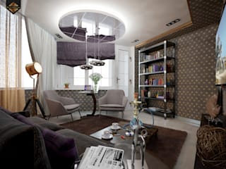 Study/office by Decor&Design, Eclectic