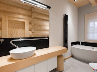 Nowoczesna łazienka od Luxum Nowoczesna łazienka od Luxum Nowoczesny