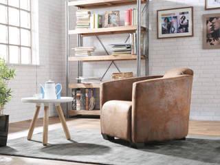 Salas / recibidores de estilo  por DELIFE , Industrial
