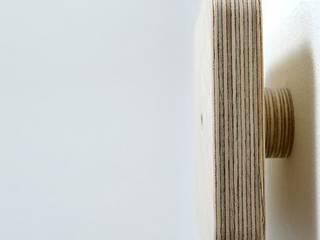 Perchero individual de madera - DEROUND DESQUARE de debosc Minimalista