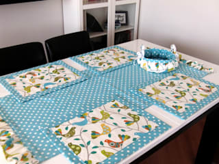 Ceviz El İşleri – Masa örtüleri,servisler: modern tarz , Modern