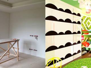Детская для 4-х малышей Детские комната в эклектичном стиле от Anna Vladimirova Эклектичный
