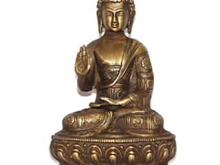 Meditating Buddha Brass Sculptures by M4design