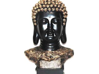 Polyresin Buddha Face Sculptue by M4design