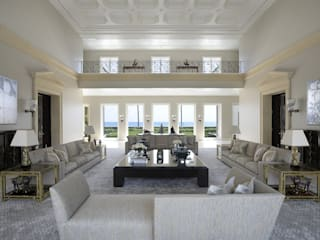 Residenza privata - Palm Beach, Florida: Bagno in stile in stile Moderno di Ti Effe Esse Interiors