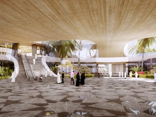 The OIC headquarters, Jeddah von Atelier Thomas Pucher