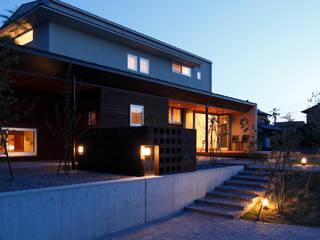 Casas de estilo  por 有限会社スマイルスタジオ/sMile sTudio, Escandinavo