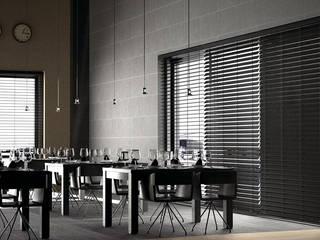 TRTEX – Ev ve Ofis Dekorasyonunda Jaluzi Perde Şıklığı: modern tarz , Modern