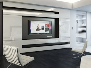 Modern Living Room by archlab.de Modern