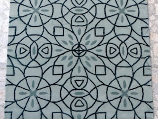 Handtufted Rugs: modern  by Rugs De Indiska,Modern