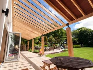 Fairfield House, Illogan, Cornwall Casas modernas de Crayon Architecture & Design Moderno