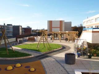 Morley Court Roof Garden, Plymouth, Devon Jardines modernos de Crayon Architecture & Design Moderno