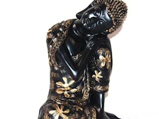 Polyresin Resting Buddha Statue: asian  by M4design,Asian