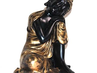 Polyresin Thai Resting Buddha Sculpture: asian  by M4design,Asian