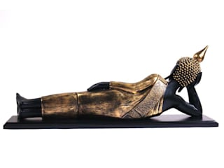 Thai Reclining Buddha Statue: asian  by M4design,Asian