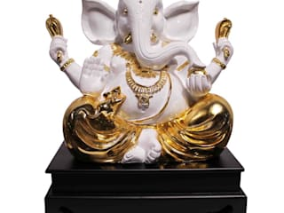 Lord Ganesha Polystone Statue: asian  by M4design,Asian