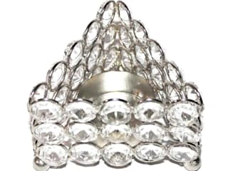 Crystal Triangle Tealight Holder/ Celebration Gifts: asian  by M4design,Asian