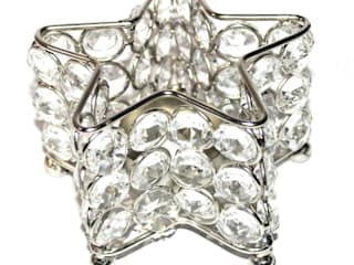 Crystal Celestial Star Tealight Holder: asian  by M4design,Asian