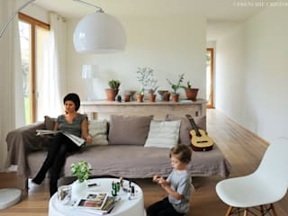 Minimalist houses by Carole Guyon architecte Minimalist