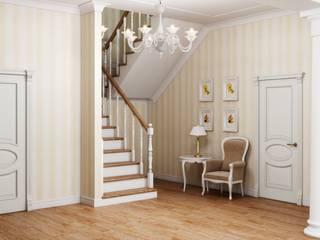 Klassischer Flur, Diele & Treppenhaus von Студия дизайна 'New Art' Klassisch