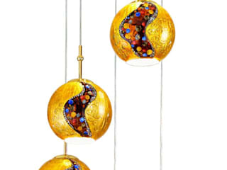 ​Pendant light - hand painted in :   by Kolarz